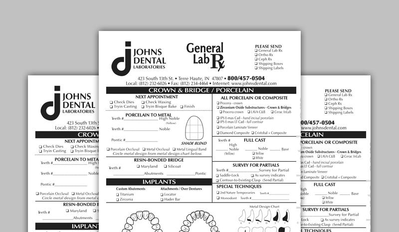 Rx Forms - Johns Dental
